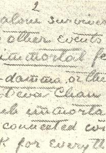 "Detalle de carta ""precipitada"" de Mahatmas"