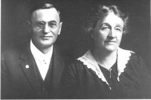Max Heindel y Augusta Fox